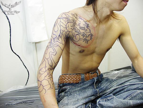 タトゥー 名古屋 大須 刺青