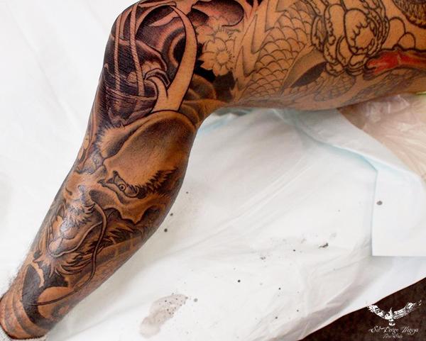 名古屋 大須 刺青 和彫り