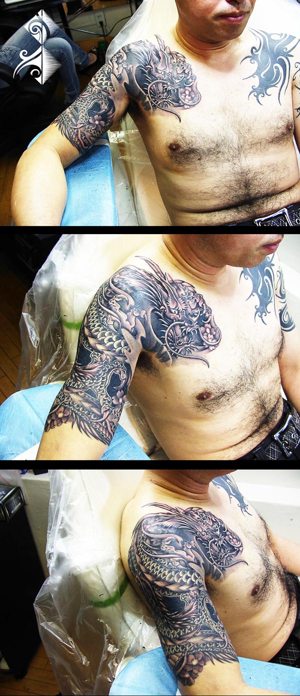 名古屋 和彫り 刺青