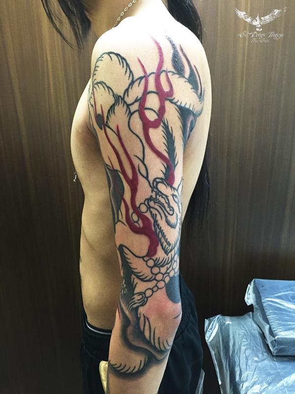 名古屋 刺青 和彫り