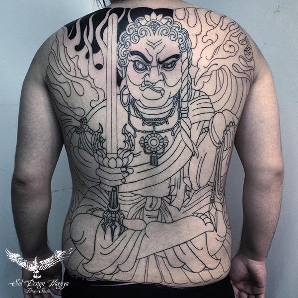 名古屋 和彫り 大須 刺青