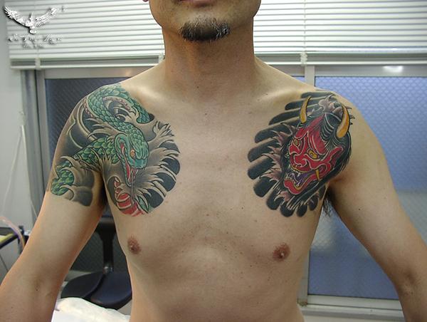 和彫り 名古屋 刺青 大須
