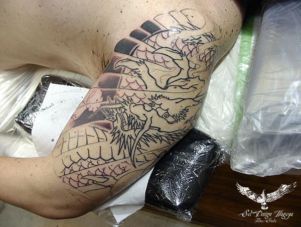 和彫り 名古屋 大須 刺青