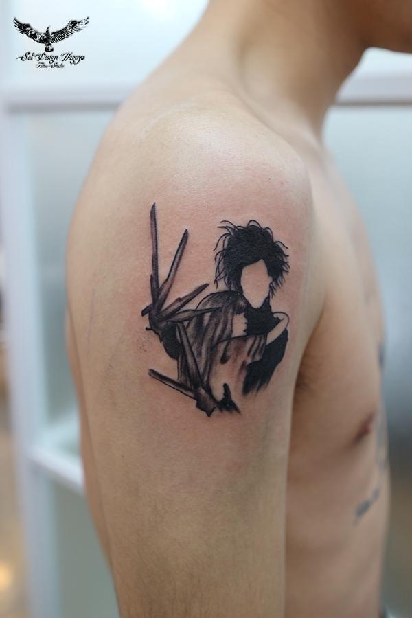 ブラック&グレー 名古屋 大須 刺青