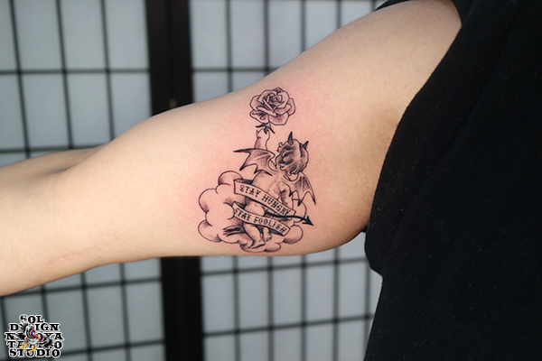 大須 タトゥー